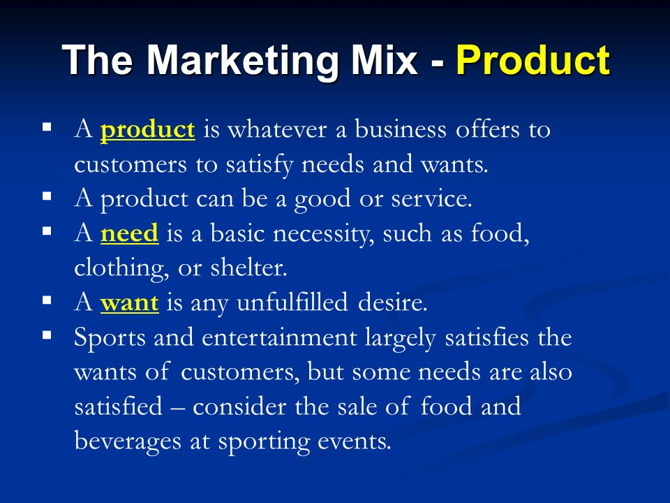 What Is the Difference Between a Marketing Mix & a Promotional Mix?