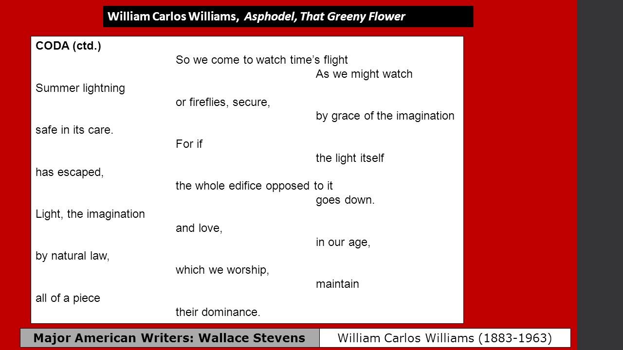 major american writers wallace stevens ppt download