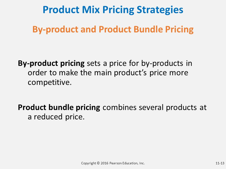 product mix pricing strategies pdf