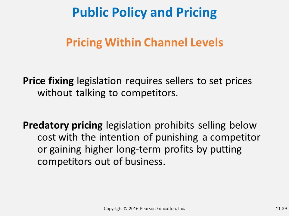 determining price levels and pricing policy essay Essaygiants - perfectly written essays, delivered on time we strive to offer the best writing services at competitive prices our pricing policy is a reflection of this.