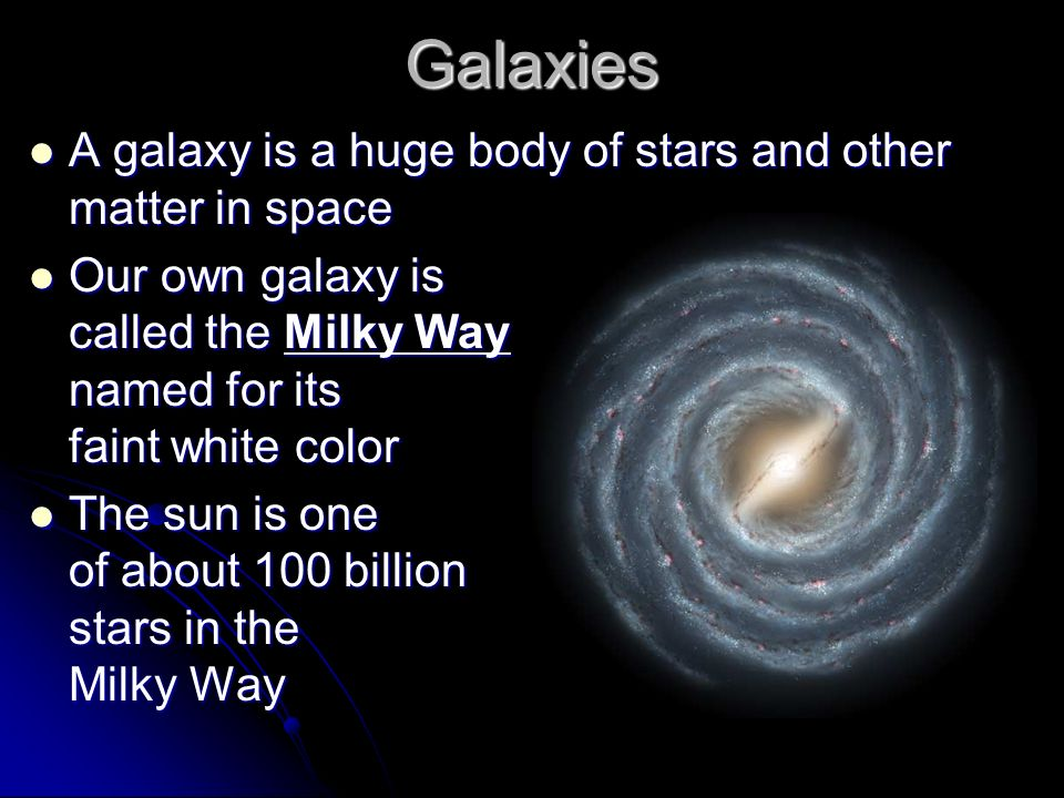names of stars and galaxies powerpoint - photo #41