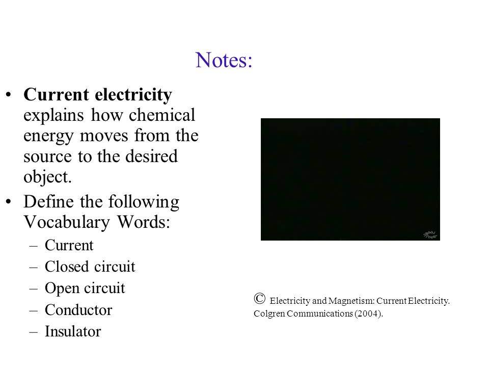 electricity what do we know about electricity