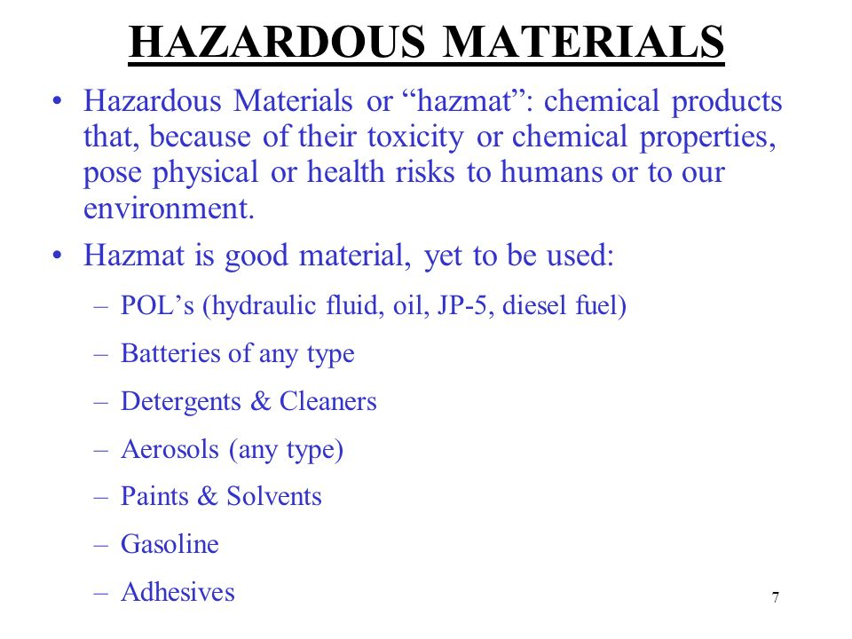 Hazardous Materials Business Plan Training Topic 1 - ppt video ...