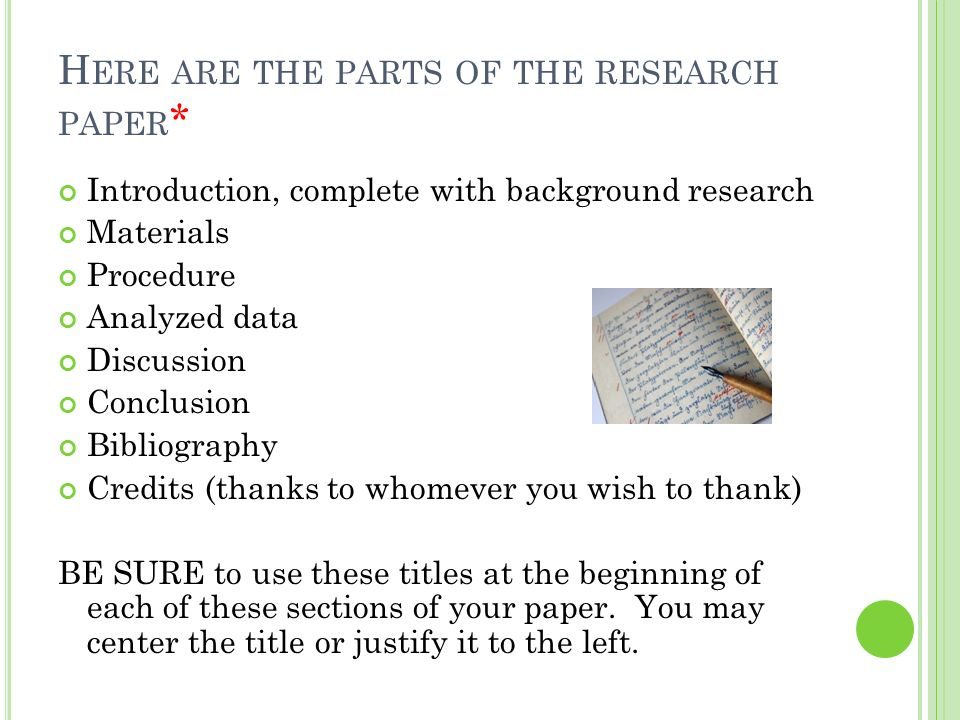 parts of the introduction of the research paper Introduction the methodology chapter, which is usually chapter 3, presents the information to let the reader understand all the steps and scientific methods used by researcher to learn more about validity and reliability of the study.