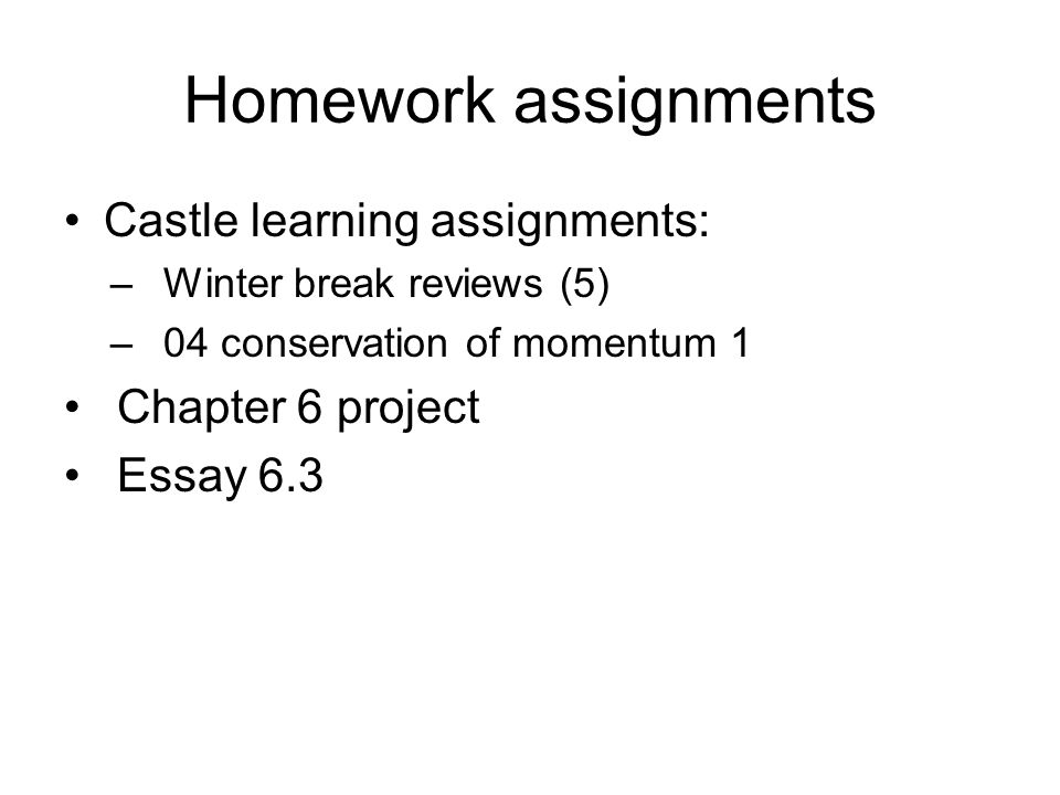 Winter Break Essay