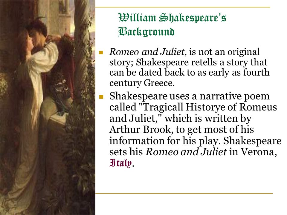 romeo and juliet story by william shakespeare pdf