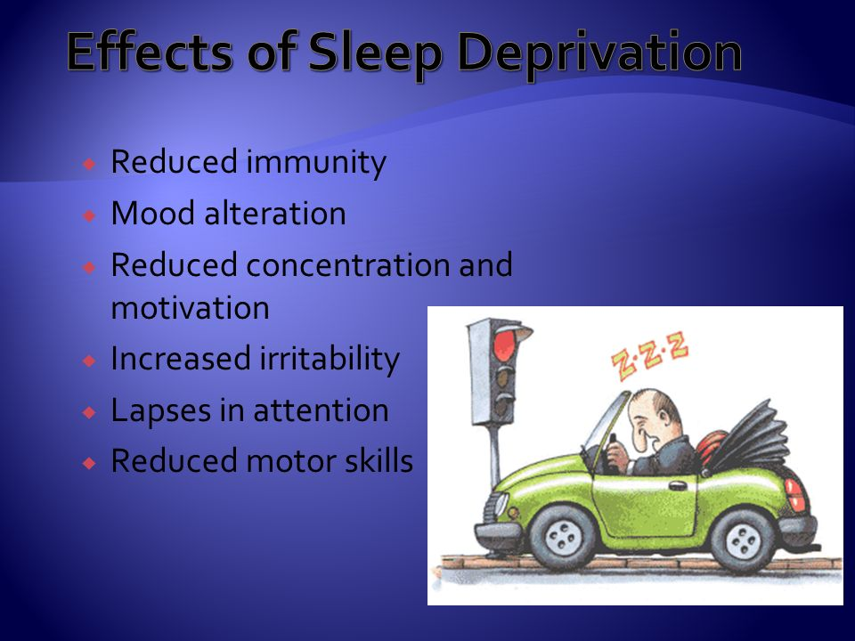 physiological effects of sleep deprivation pdf