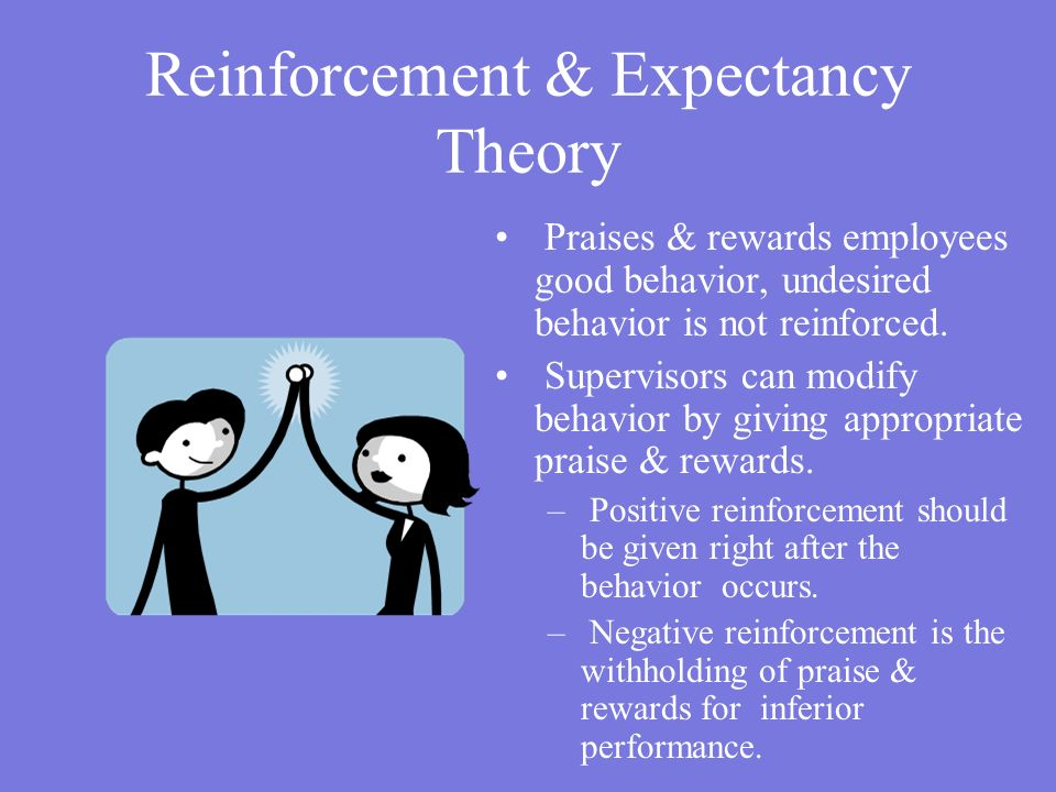 Reinforcement & Expectancy Theory