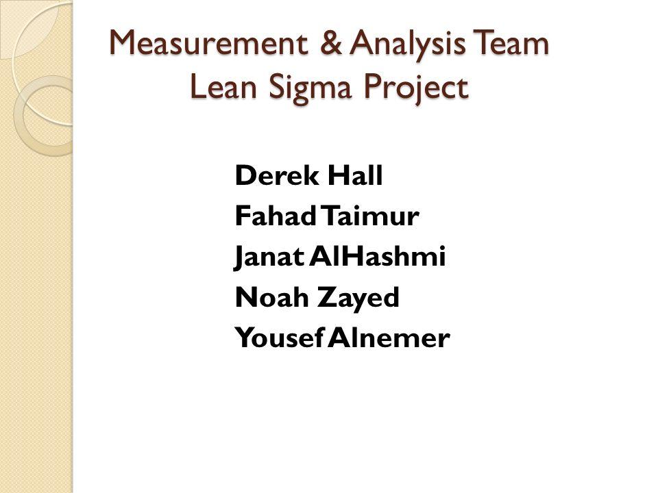 Analysis team