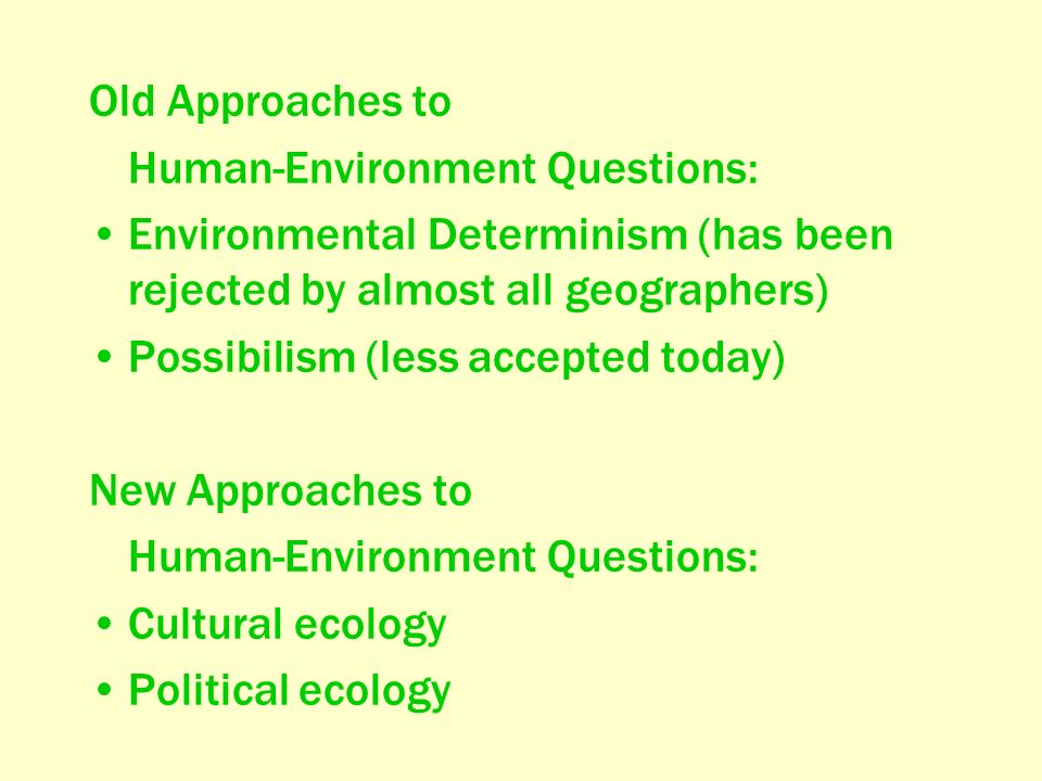 geography ecology question Chapter 50 sample questions & answers: multiple choice choose the one alternative that best completes the statement or answers the question 1) important abiotic factors in ecosystems i and ii only e) i, ii, and iii 2) all of the following statements about ecology are correct.