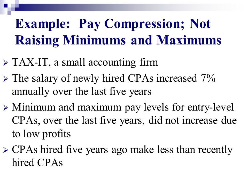 example of salary