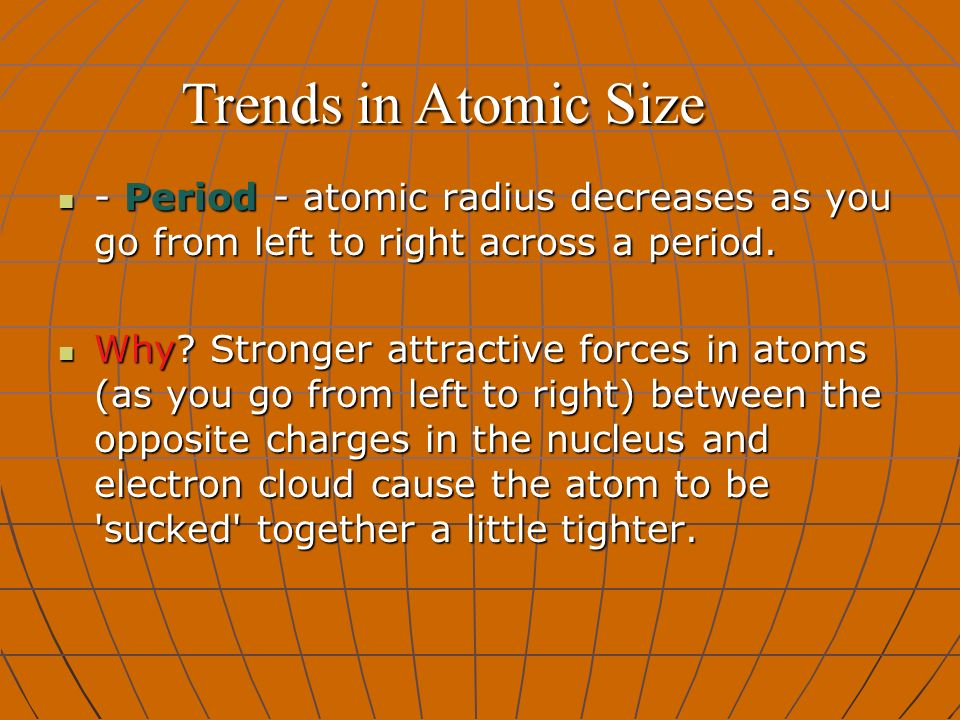 Trends in the periodic table ppt download 4 trends urtaz Images