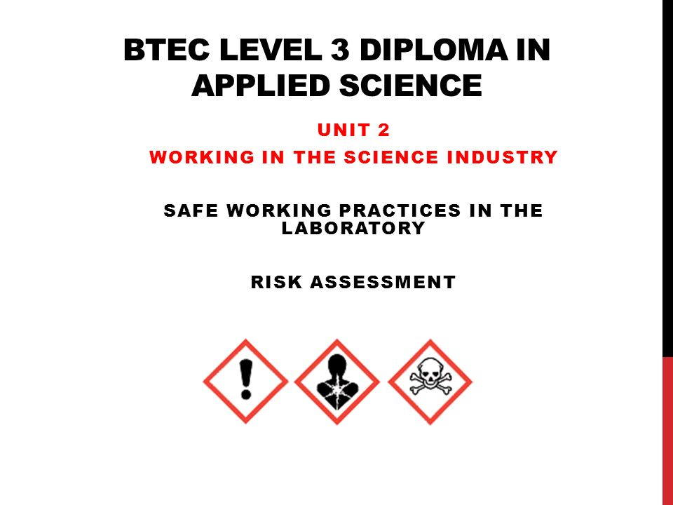 btec level diploma in applied science ppt video online  btec level 3 diploma in applied science