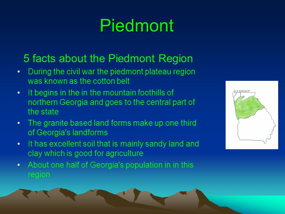 Five physiographic regions of georgia ppt video online for 5 facts about soil