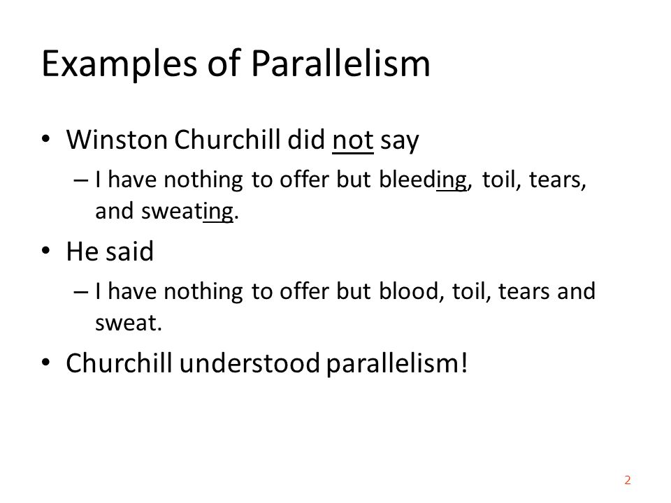 parallelism in writing exercises Chapter 18 parallelism, variety, and emphasis your writing style by using parallelism 18g parallelism, variety, and emphasis exercise 18-2working.
