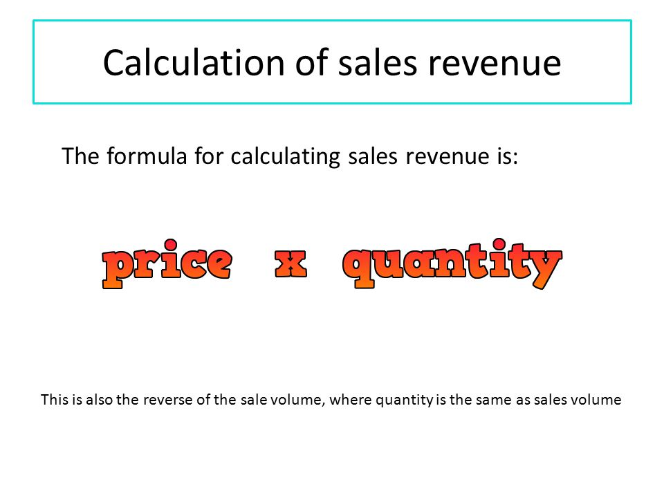 how to calculate the change of sales