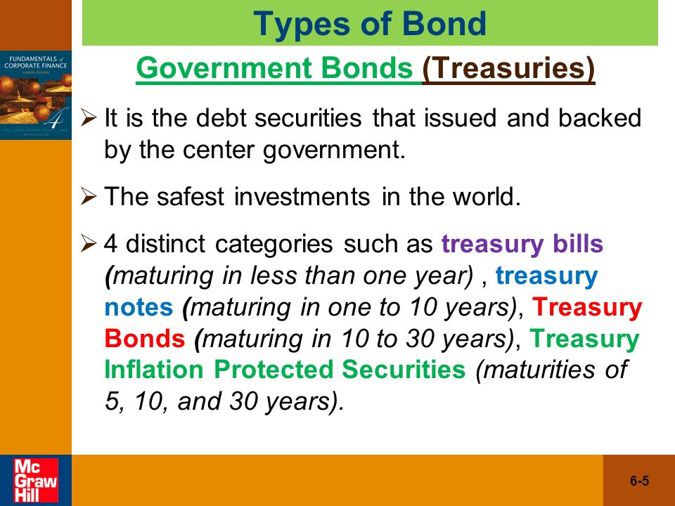 government bonds coupons
