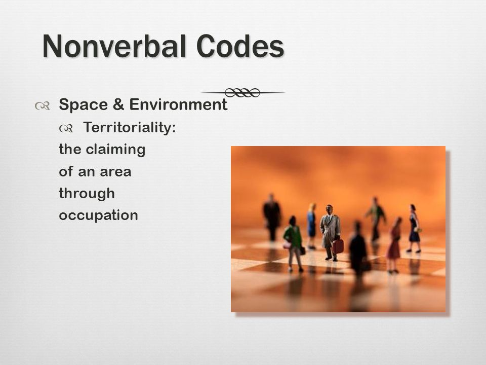 nonverbal communication codes Video: non-verbal communication: examples, types & definition in this lesson, you will learn where non-verbal communication comes from and why people display non-verbals cues.