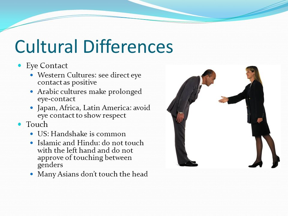 The Role of Eye Contact in Different Cultures