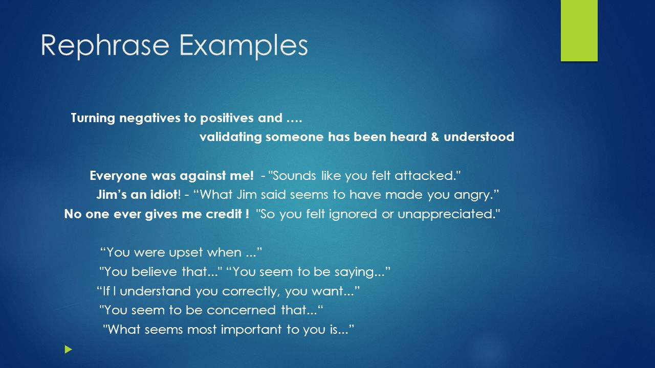examples of difficult situations