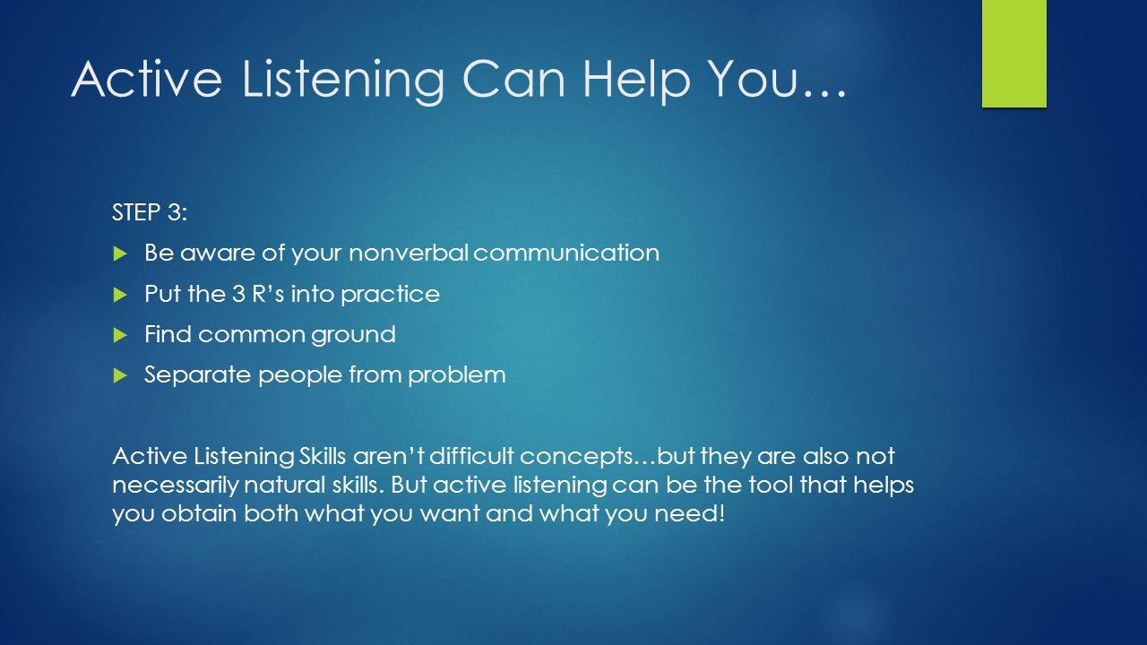 Ice Breakers for Active Listening : Teaching & Learning ...
