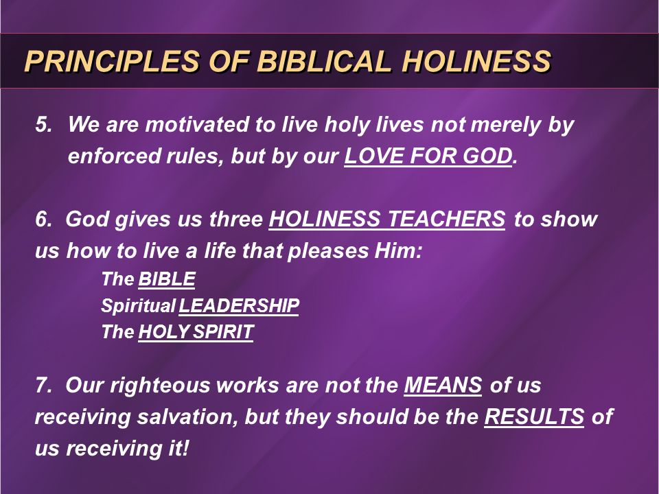 principles for biblical leadership Christian leadership teacher's manual by roger l smalling, dmin  principles of service and suffering form  motivations as well as the biblical requirements for the spiritual life of a leader however, sanders' book lacks specific and practical managerial information.