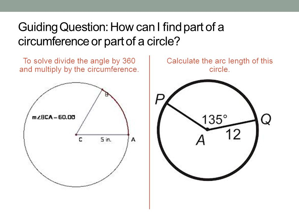 Find the length of the diameter of the circle