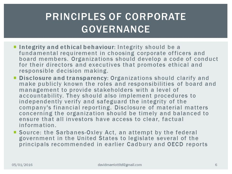 The new Code of Corporate Governance for Mauritius (2016)
