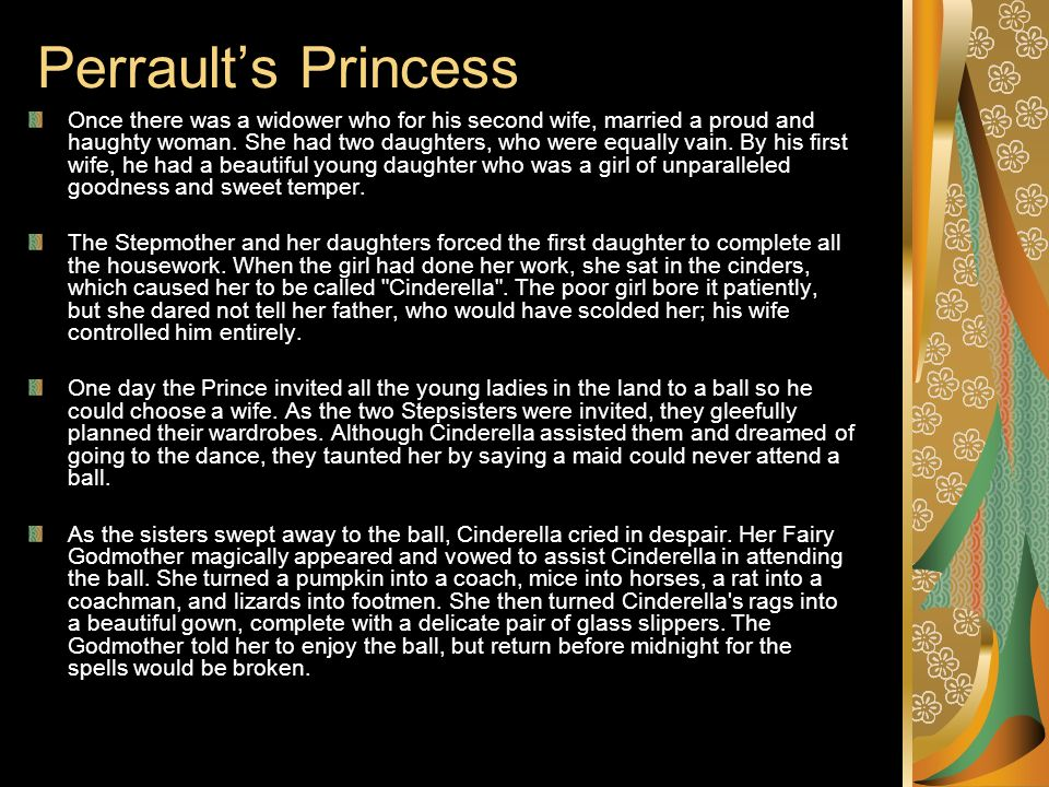 the cinderella myth essay Essay about cinderella story once upon a time in a small, but very wealthy town in england, mellytochi was a young 17 year old orphan, who lived with her horrifying stepmother la' fonda and he selfish, rude stepsister trobalquia.