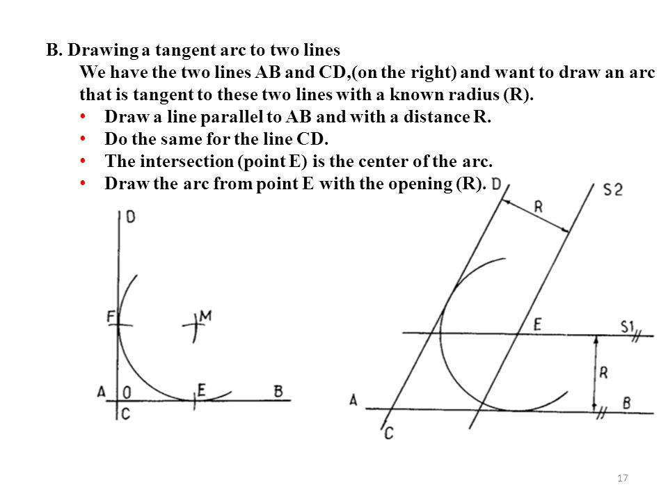 Drawing Lines In C : Geometric construction ppt video online download