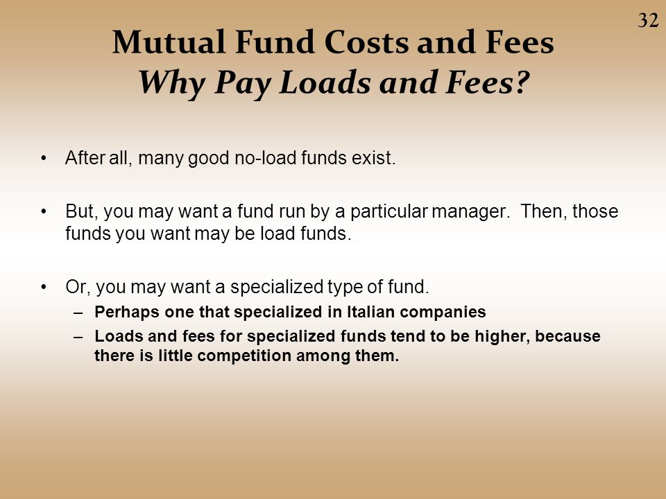 no load mutual fund