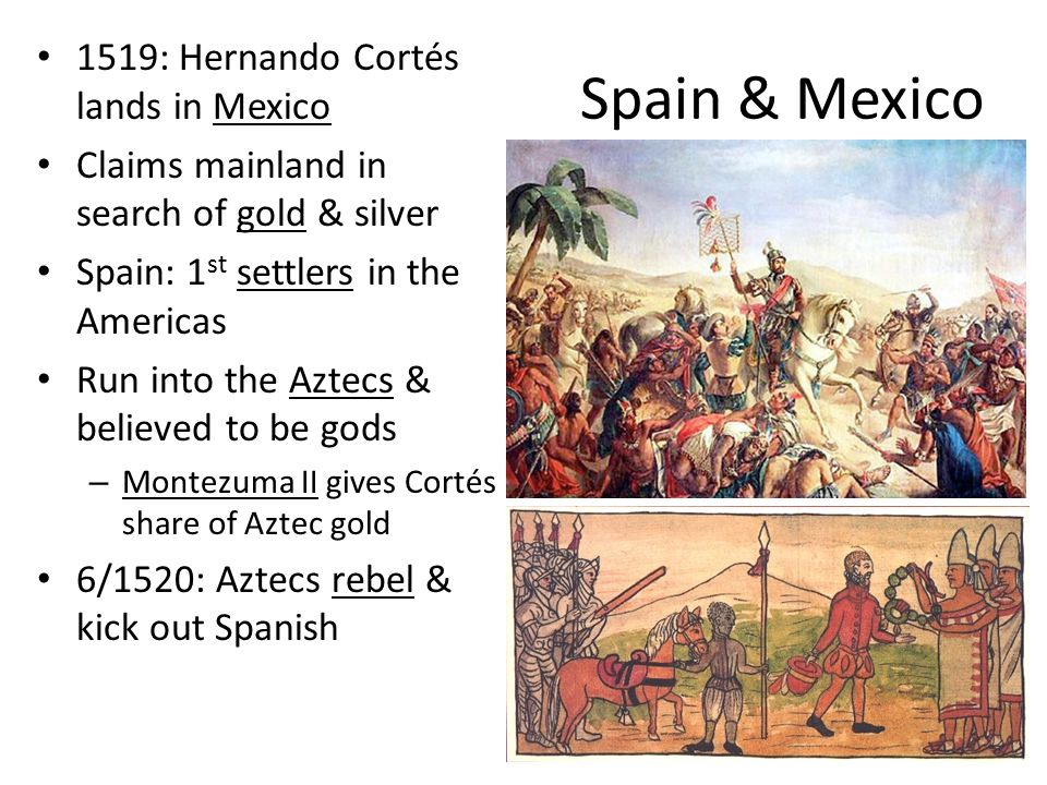 an overview of the 1520 conquer of the lands of mexico by hernando cortes Hernán cortes was one of the most famous colonizers of america  cortes got  most of his information about the situation in the interior of mexico through an   summary acting on information from the seafarers córdoba and grijalva, cortes   on july 2nd, 1520, cortes was forced to abandon tenochtitlan in the face of.