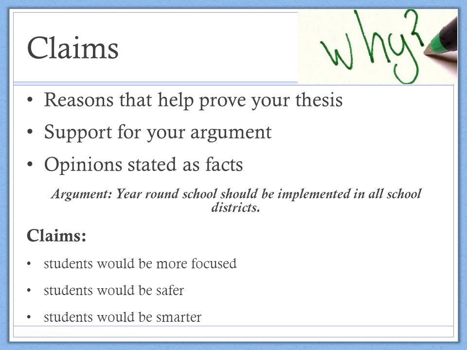 """claim evidence warrant essay Claims, evidence, and warrants identifying and evaluating claims and warrants in each body paragraph of the argumentative essay """"boxing."""