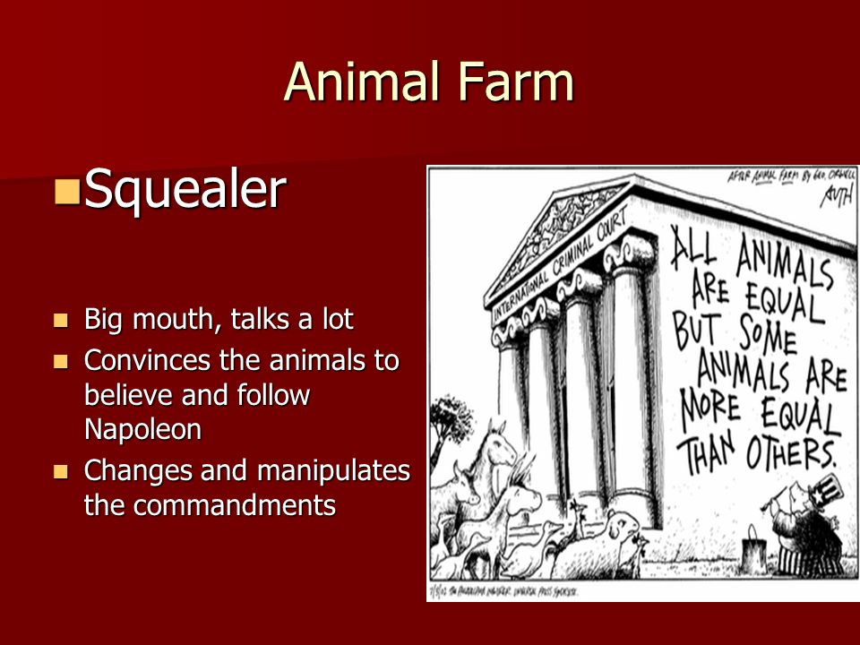 propaganda for animal farm and russian Animal farm napoleon stalin essay orwell, amazing author, published a novel in 1947, called animal farm, that intelligently satirized animals in a farm to the events that occurred during the russian revolution and the events surrounding the russian revolution.