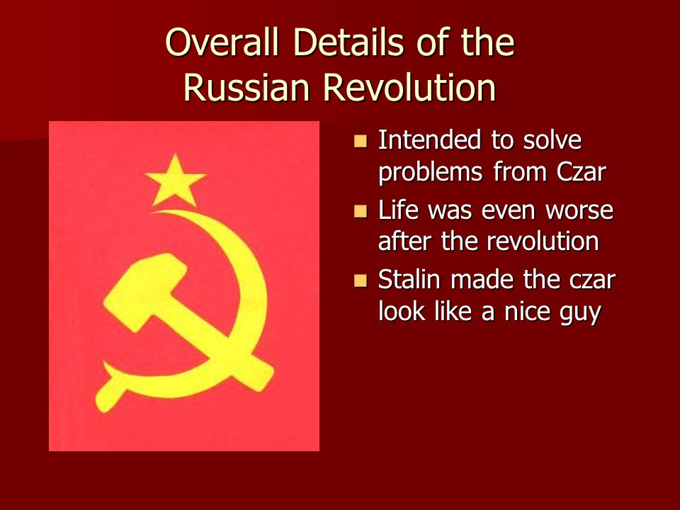 comparative essay animal farm russian revolution Thesis statement / essay topic #3: animal farm in historical and social context in many ways,  the thesis statement would be as simple as stating that there are many parallels between the russian revolution and ensuing communist takeover and the events in george orwell's novel animal farm.