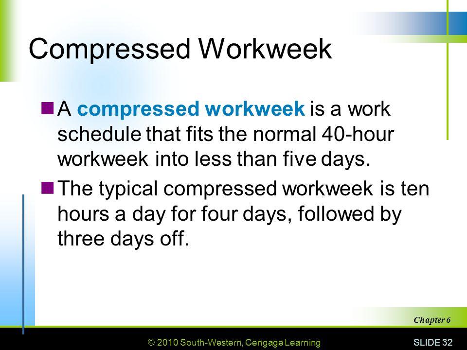 Compressed Work Week Proposal Template Compressed Workweek
