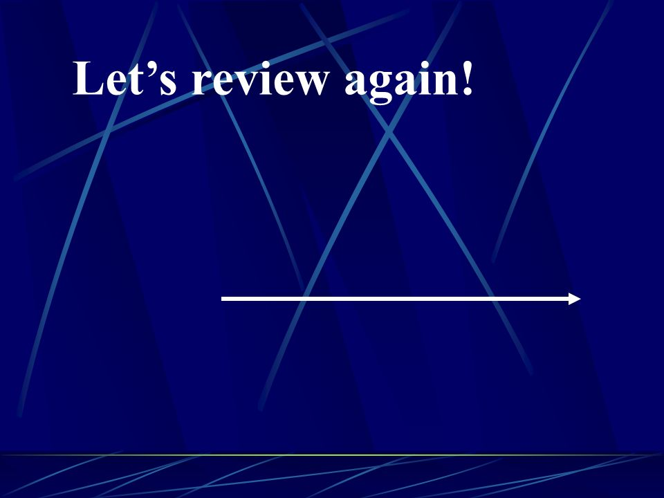 Let's review again!