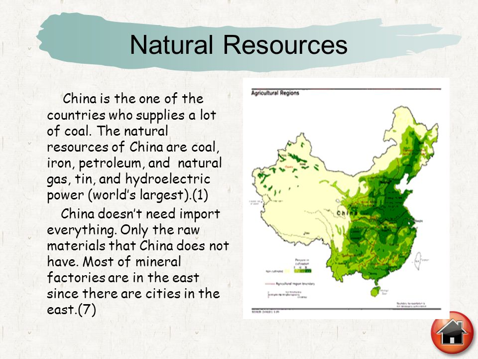 Does China Have A Lot Of Natural Resources