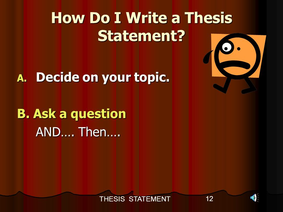how do you write a thesis How do you write a thesis statement in essay writing update cancel ad by notebookai.