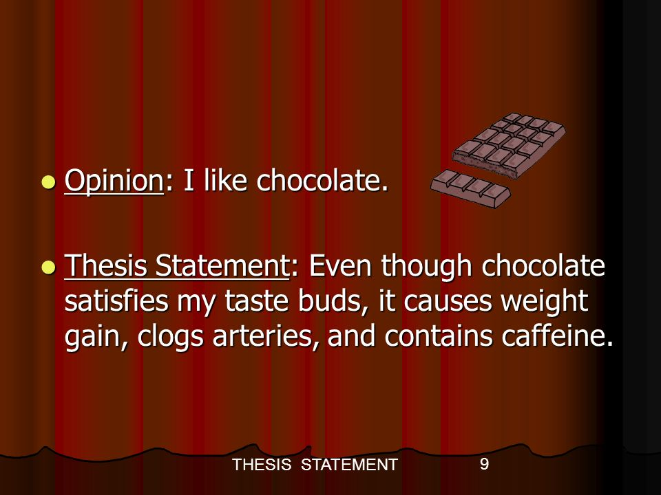 thesis statement weight training