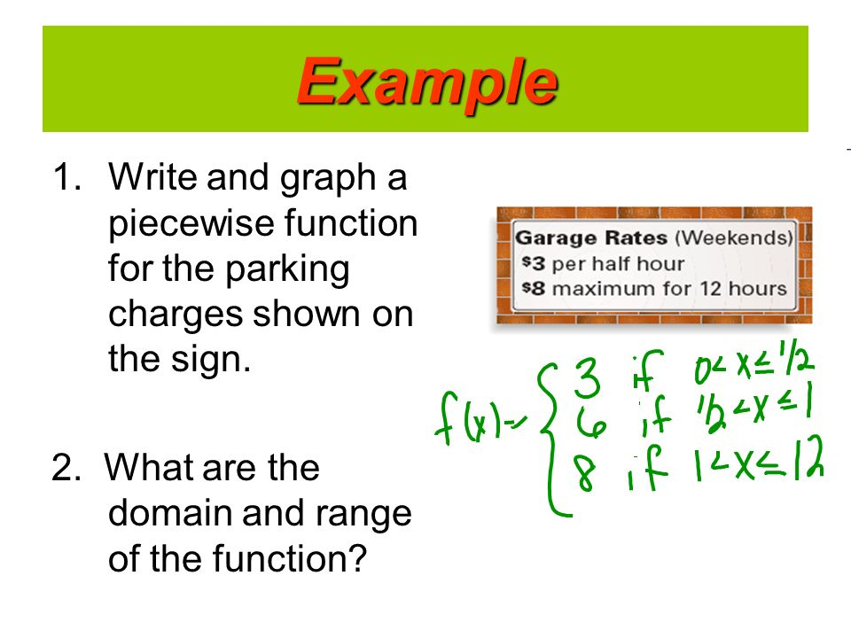 Writing a function rule using word problems