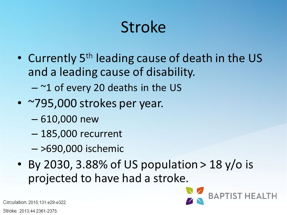 stroke the fourt leading cause of death The top 10 leading causes of death cost the us economy $11 trillion, including not only direct medical care but also the indirect loss of productivity conventional medical care was not listed as a top cause of death, even though research points to adverse drug reactions, medical errors, hospital-acquired infections, unnecessary procedures.