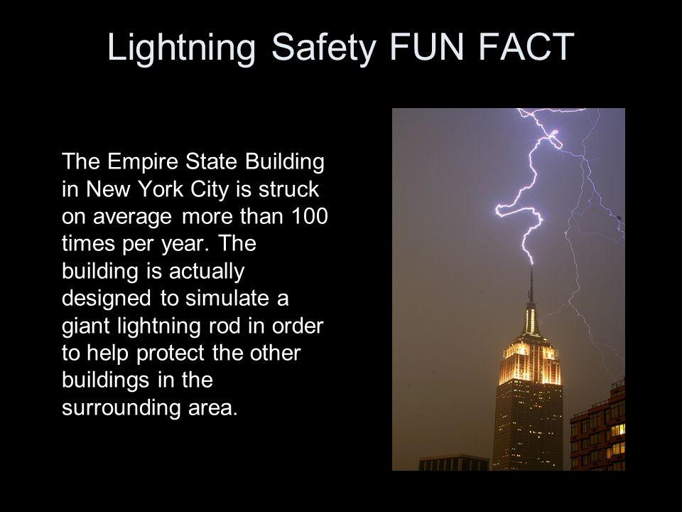 New York Times Building Lightning