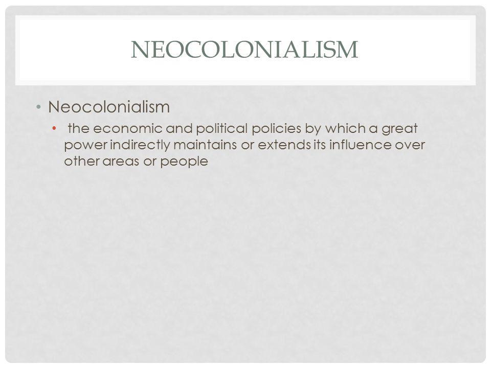 Neocolonialism latin america