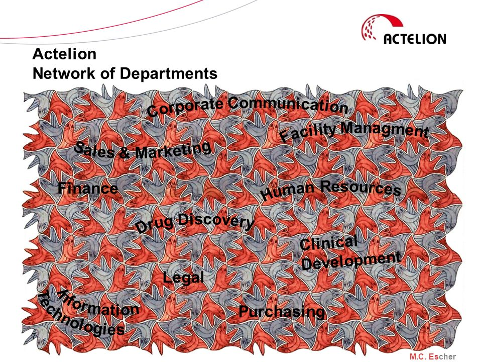 Actelion Network of Departments