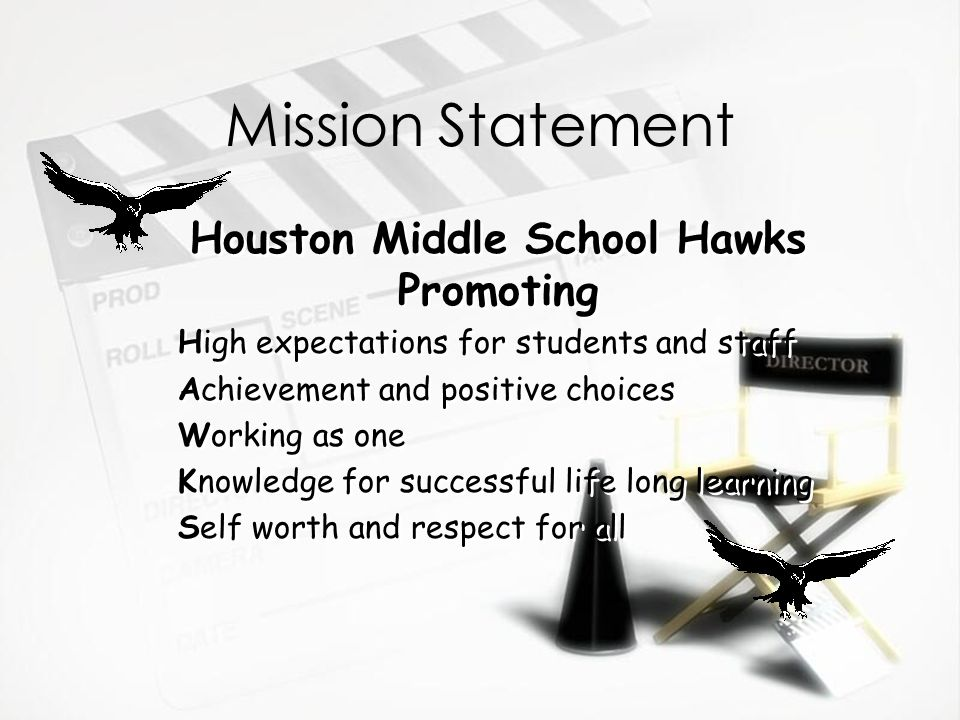 Houston Middle School Hawks Promoting