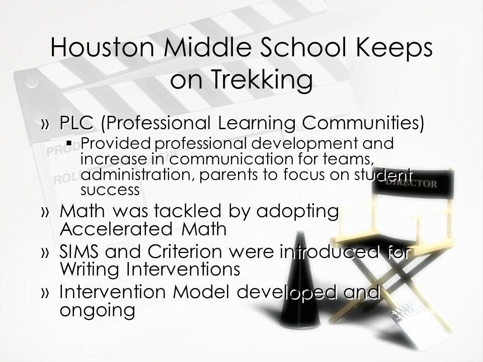 Houston Middle School Keeps on Trekking