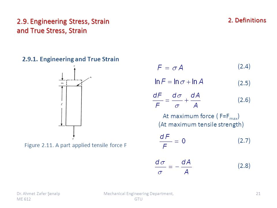 engineering stress and strain pdf