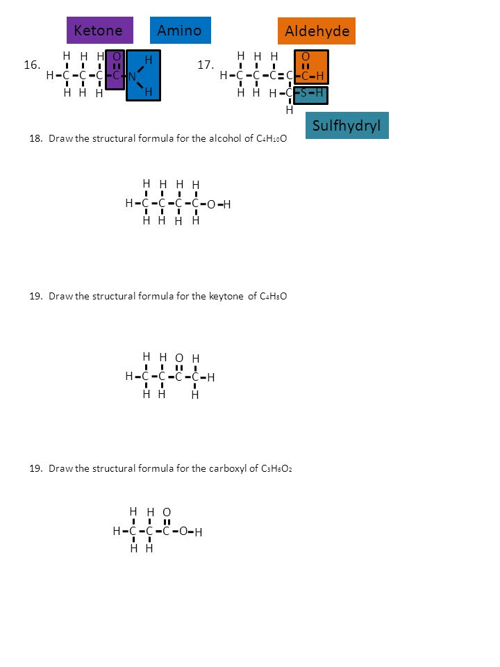 Functional Group ID Worksheet ppt download – Functional Groups Worksheet