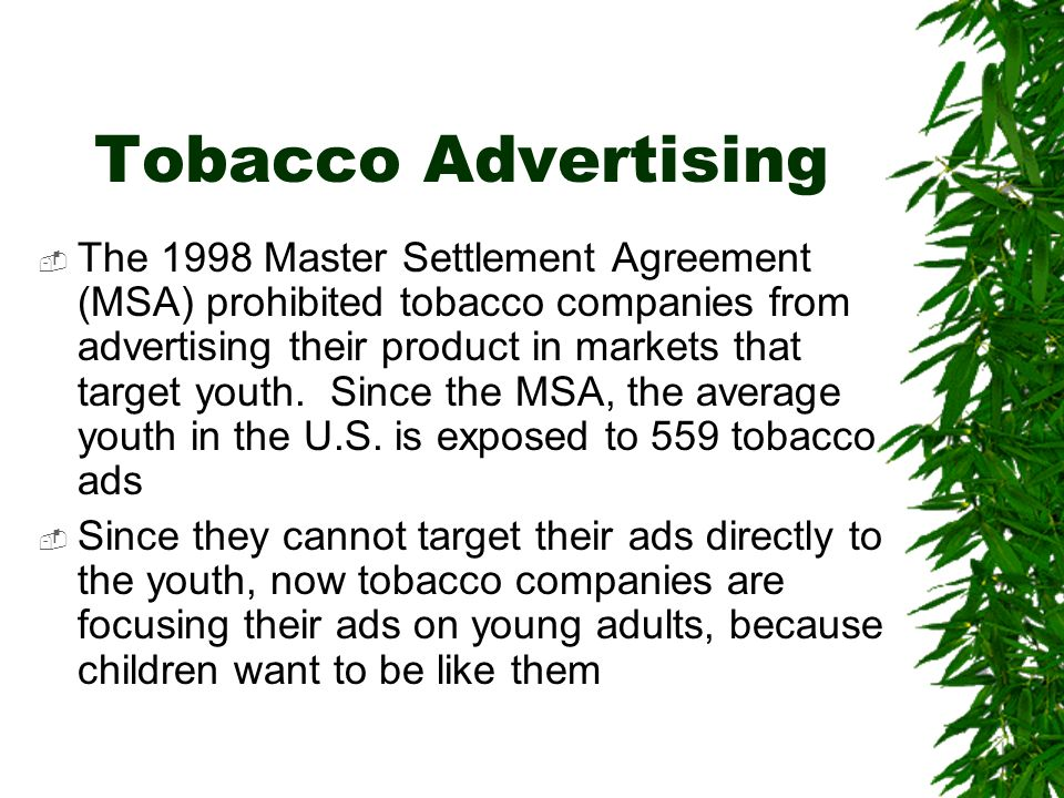 Should Smoking Be Made Illegal In The United States  Ppt Download